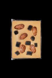 Abra foods, karameļu šokolāde, 60g caurspīdīgā iepakojumā