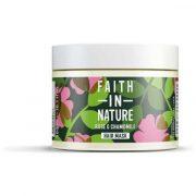 Faith in nature, atjaunojoša matu maska ar mežrozītēm un kumelītēm, 300ml