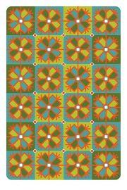 """Kartīte, """"Latviešu ornamenti. Saule"""" (100x150mm)"""