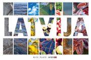 """Kartīte, """"Latvija"""" (100x150mm)"""