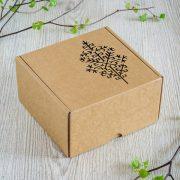 """Dāvanu kaste, """"Austras koks"""", (160x160x90mm)"""