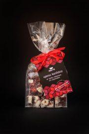 Abra foods, upeņu marmelādes konfektes ar lazdu riekstiem un cepumiem, 195g