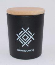 Dobeles sveces, svece cilindra stikla trauciņā ar vāciņu ar Akas zīmi