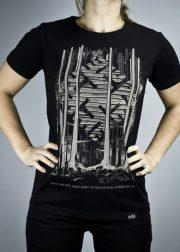 "Cemme, melns T-krekls ""Pērkons"""