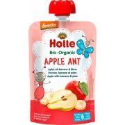 """Holle, BIO augļu biezenis ar banāniem un bumbieriem """"Apple Ant"""" no 6mēn., 100g"""
