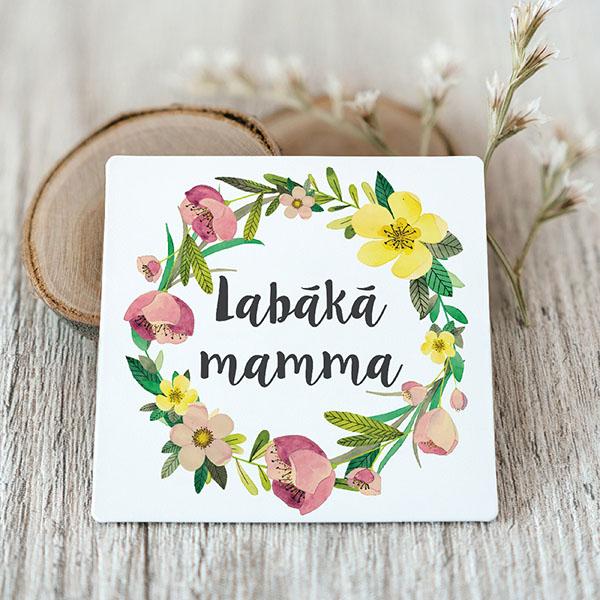 Vinila magnēts ar tekstu Labākā mamma
