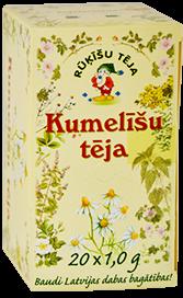 Rūķīšu tēja kumelītes paciņās 20g