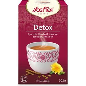 Yogi tea attīrošā detox tēja 17 maisiņi