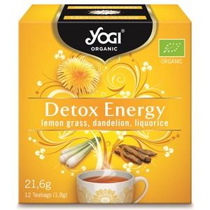 Yogi attīrošā detox energy tēja 12 paciņas