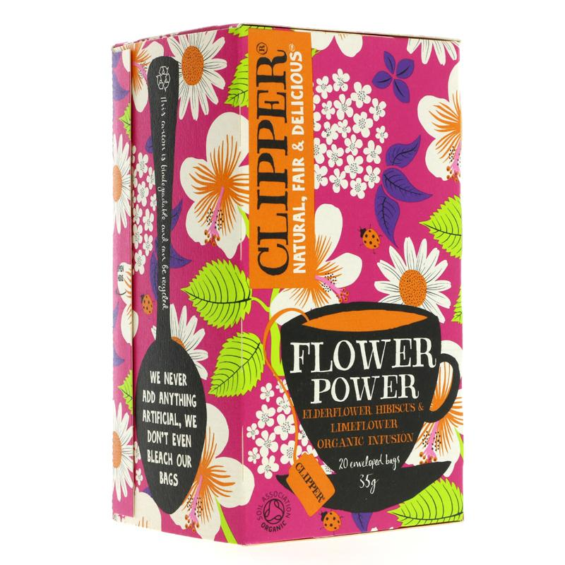 Clipper savvaļas ziedu tēja 20 paciņas