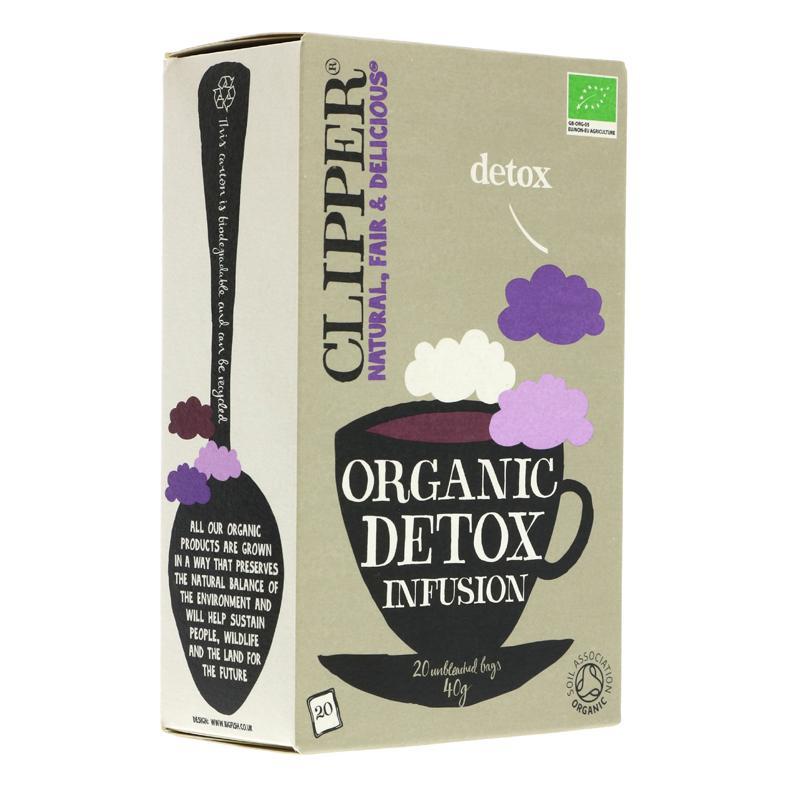 Clipper detox attīrošā tēja 20 paciņas