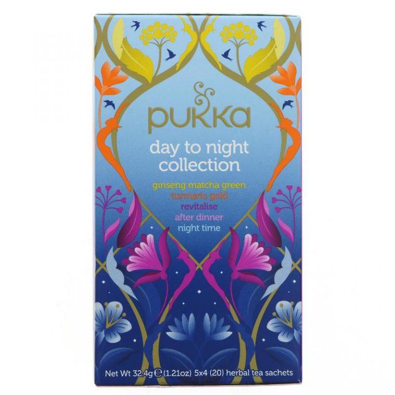 Pukka tējas kolekcija day to night 20 pac