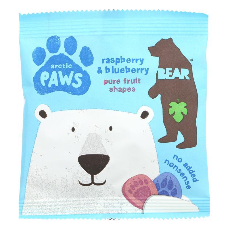 Želejas konfektes bērniem ar aveņu un melleņu garšu. Nesatur glutēnu un ir vegāniem draudzīgs produkts