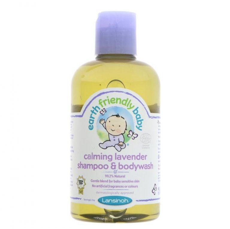 Lavandas šampūns un dušas želeja bērniem, 250ml
