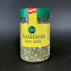 garšaugu maisījums salātiem bez sāls
