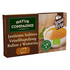 Liellopa buljons bez cukura