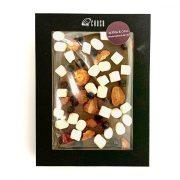 Šokolāde ar zefīriem un ogām, caurspīdīgā iepakojumā, 220g
