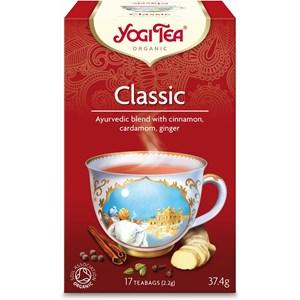 yogi tēja klasiskā sarkanā iepakojumā 17 maisiņi