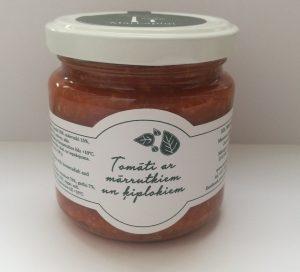Mārlapiņi mārrutki ar tomātiem un ķiplokiem 180g
