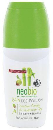 NeoBio dezodorants rullītis bio olīvu un bambusa ekstraktiem 50 ml