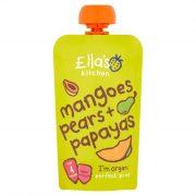 Ella's Kitchen, mango, bumbieru un papajas biezenis, 120g