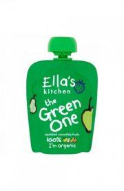 Ella's Kitchen, zaļais augļu biezenis, 90g