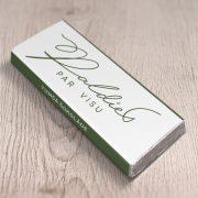 mazā tumšā šokolāde astoņpadsmit grami ar tekstu paldies par visu