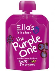 Ella's Kitchen, violetais augļu biezenis, 90g