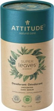 Attitude, super leaves dezodorants bez smaržas, 85g