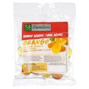damhert augļu ledenes bez cukura 75g caurspīdīgā paciņā ar oranžu etiķeti